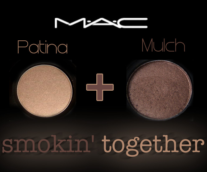 Mac Mulch Amp Patina Eyeshadows Meant To Be Together