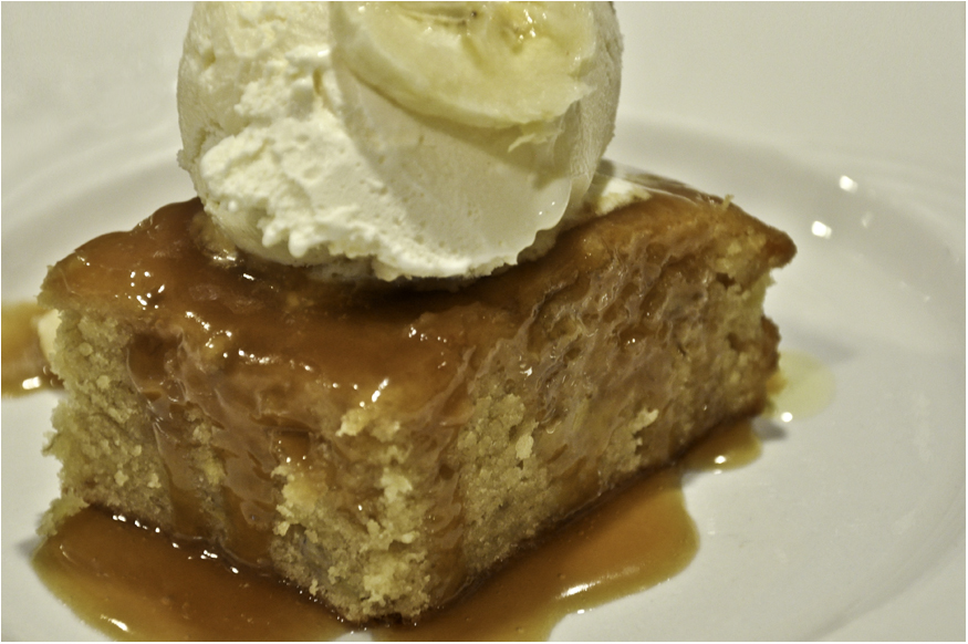 Yesterday's Sweet - Sticky Toffee Banana Pudding Cake ...