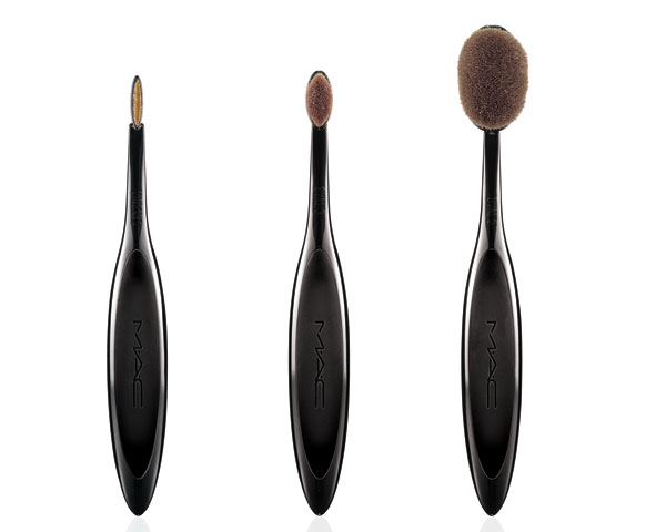 mac launches their newest makeup brushes studio marie