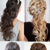 Half-Up Half-Down Wedding Hairstyles